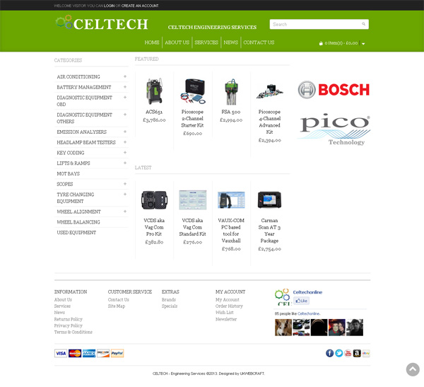 Celtech Engineering Services